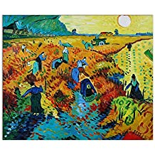Arte Dal Mondo Pintura al Óleo sobre Lienzo Van Gogh Vigneti Rossi