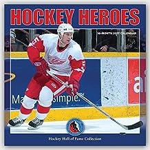 Hockey Heroes - Eishockey 2017 - 16-Monatskalender: Original BrownTrout/Wyman Publishing-Kalender [Mehrsprachig] [Kalender] (Wall-Kalender)
