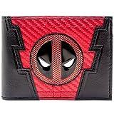 Marvel Deadpool 2 Carbon-Anzug-Stil Schwarz Portemonnaie Geldbörse