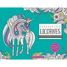 Cartes postales Inspiration Licornes