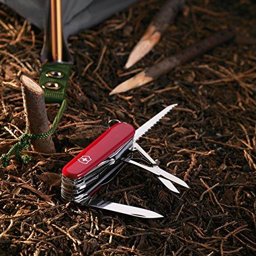 61rzWBQkk8L. SS500  - Victorinox Taschenwerkzeug Offiziersmesser Swiss Champ Rot Swisschamp Officer's Knife, Red, 91mm