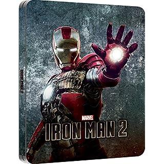 Iron Man 2 Steelbook. / Exclusive U.K.Import. / Lenticular Cover. Region Free
