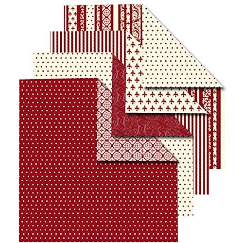 Origamipapier, Sortiment, 15x15 cm, Copenhagen, 50 sort. Blatt