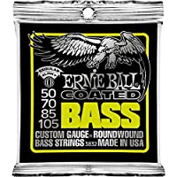 Ernie Ball 3832 50-105 Regular Slinky Coated Nickel Roundwound String Set