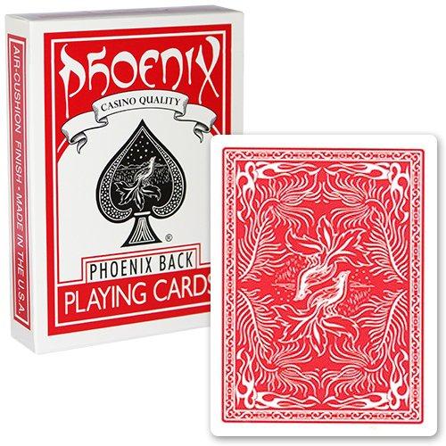 Carte Phoenix colore Rosso