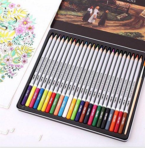 Personalisierte Bleistifte Farbstifte 36 verschiedene Farben ungiftige Aquarell-Farbton-Bleistifte mit starkem Eisen