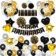 Sailunte Classic fishtail flag balloon set,Balloons for Decoration/Baby, child, adult birthday balloons/balloo