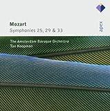 Mozart : Symphonies Nos 25, 29 & 33 - Apex
