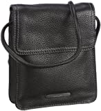 Gerry Weber Damen Los Angeles II Flap Bag XS Umhängetaschen, Schwarz (Black 900), 16x18x4 cm