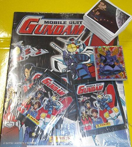 mobil-suit-gundam-album-vuoto-nuovo-set-204-figurine-completo-5-bustine-panini