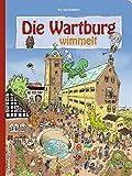 Die Wartburg wimmelt, liebevolle Illustrationen zeigen das bunte Treiben im Mittelalter und sorgen für Wimmelspaß bei Groß und Klein - Kai von Kindleben