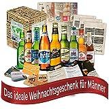Weihnachtsgeschenk für Männer Biere der Welt (9x0,33l) Weihnachten in aller Welt | Weihnachtsgeschenkidee Mann Papa Freund Geschenk für Weihnachten