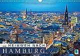 Heimweh nach Hamburg (Wandkalender 2015 DIN A3 quer): Hamburg: Hansestadt an der Elbe (Monatskalender, 14 Seiten) (CALVENDO Orte) - CALVENDO
