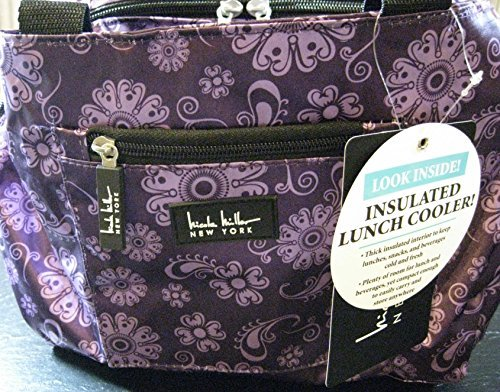 nicole-miller-of-new-york-insulated-lunch-cooler-11-lunch-tote-medaillon-purple-by-nicole-miller