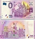 0EURO 0 EURO Souvenir Note EDITION 3 (der dritte Köln Schein als Collage in limitierter Auflage online)