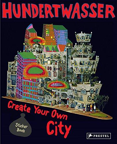 Hundertwasser Create You Own City Sticker Book