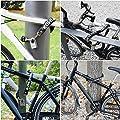 KOHLBURG Kettenschloss extra-sicher für Fahrrad E-Bike & Motorrad, robustes Fahrrad-Schloss 90cm x 8mm stark mit Schlüssel