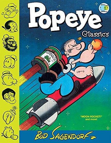 Popeye Classics, Vol. 10: Moon Rocket and more