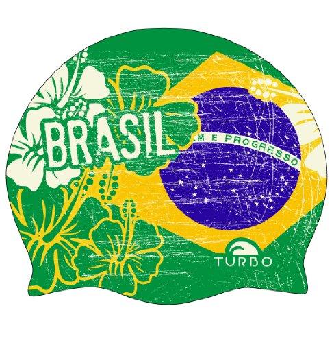 Turbo Brasil-Badekappe, Grün