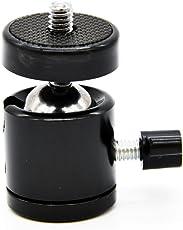 "Magideal Photography 360 Swivel Ball Head Standard 1/4 "" 3/8"" Screw Camera Tripod"