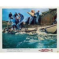 Mauvais Genres 20,000 LEAGUES UNDER THE SEA Lobby Card N2 11x14 in. - R1971 - Richard Fleischer, Kirk Douglas