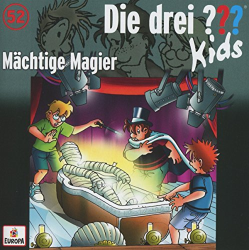 Die drei ??? Kids (52) Mächtige Magier - Europa 2016