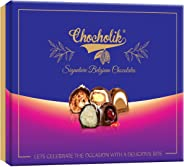 Chocholik Exclusive Signature Belgium Chocolates Truffles Gift Box - 12pc