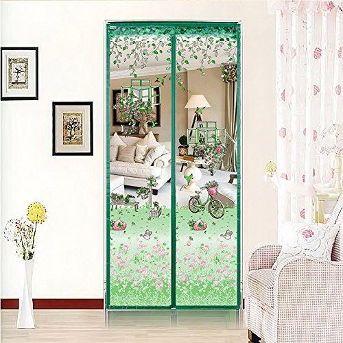 ... Fliegengitter Magnetvorhang Für Türen Insektenschutz Magnet  Fliegenvorhang Moskitonetz, Klebmontage Ohne Bohren, Vorhang Für Balkontür