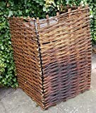 CrazyGadget® Wheelie Refuse Rubbish Recycle Bin Screening Willow Garden Tidy Screen Panel Hideaway