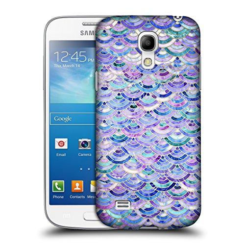 Offizielle Micklyn Le Feuvre Mosaik Und Amethyst Und Lapislazuli Marmor Muster Ruckseite Hülle für Samsung Galaxy S4 mini I9190