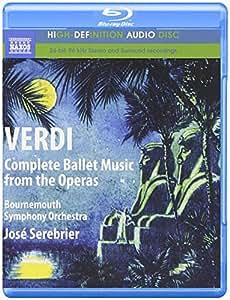 Verdi - Sämtliche Ballettmusik aus den Opern [Blu-ray Audio]