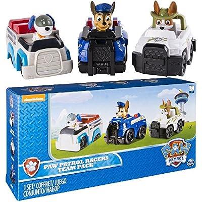 Paw Patrol Rescue Racers vehículo de juguete - vehículos de juguete (Multicolor, 3 año(s), Niño/niña, Interior, China, 279,4 mm) por Spin Master
