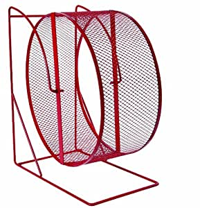 Trixie Rodent Wheel Metal Close-Meshed Tread x 17cm