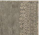 Fatto a mano contemporaneo grigio lana tappeto persiano tradizionale orientale in moquette e tappeti, 100% Lana, Grey, 9x12
