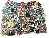 #2: CHRONEX 100PCS Cool Vinyls Graffiti Stickers to Personalize Laptops, Skateboards, Luggage, Cars, Bumpers, Bikes.