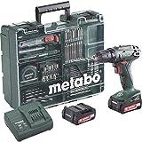 Metabo Akku-Bohrschrauber BS 14.4 Li Set Mobile Werkstatt, 6.02105.61