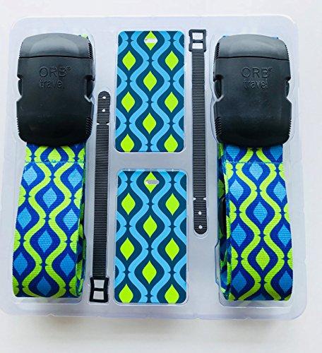 ORB Travel - Travel Essentials II Kits -TE205-Helix-Blue/Green