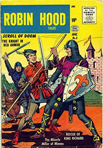 Le avventure di Robin Hood a Fumetti - Numero 003 e 004 (Fumetti Vintage da collezione (Traduzione ed adattamento in Italiano con funzione di zoom) Vol. 2) (Italian (Hood Robin In Da)