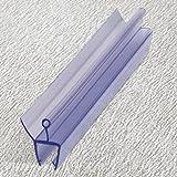 Duschdichtung 200 cm - für 10 mm Glas - Wasserabweiser Ersatzdichtung Duschprofil Duschtürdichtung Lippe. In unserem Shop finden Sie alle gängigen Formen für 6-10mm Glas