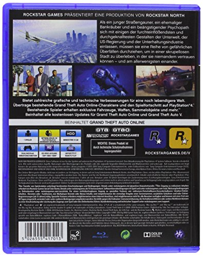 Grand Theft Auto V – [PlayStation 4] - 2