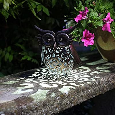 Handmade Smart solar Garden Metal animal decoration Light