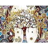 Fototapeten Gustav Klimt Baum des Lebens 352 x 250 cm Vlies Wand Tapete Wohnzimmer Schlafzimmer Büro Flur Dekoration Wandbilder XXL Moderne Wanddeko - 100% MADE IN GERMANY Runa Tapeten 9219011a