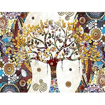 Tapisserie Photo Gustav Klimt Arbre De Vie 308 X 220 Cm