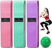 CVOZO Elastici Fitness (3 Pezzi), Bande Elastiche di Resistenza Set di 3 Colorate Fasce Elastiche Fitness in T