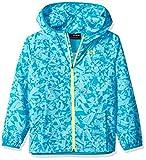 Under Armour Girls' Sack Pack Full Zip Jacket, Venetian Blue/Deceit/High-Vis Yellow, Youth Medium