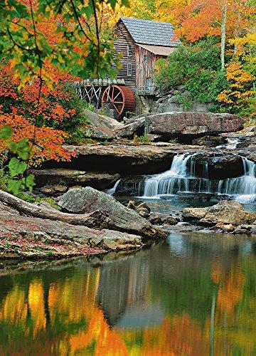 Mill Grist - foto-carta da parati Wallpaper 183 x 254 cm - 4 teilig Beige (Grist Mill)