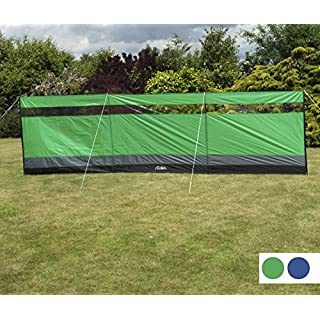 Andes Large Green Camping Windbreak Beach Windshield Shelter With Top Window