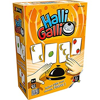 Gigamic  - AMHGST - Jeu de Cartes d'Action et de Réflexes - Halli Galli