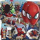 Spiderman Kindergeburtstag Partyset XXL