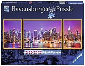 Ravensburger-00.019.792 Puzzle 1000 pzas Tríptico New York, Multicolor (19792) , Modelos/colores Surtidos, 1 Unidad